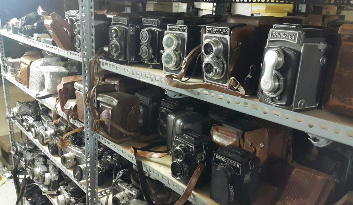 thu mua máy ảnh film